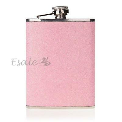 Stainless Steel 8oz Alcohol Drinks Liquor Whisky Hip Flasks Pink New