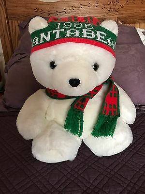 1986 Dayton Hudson Santa Bear Mint Condition