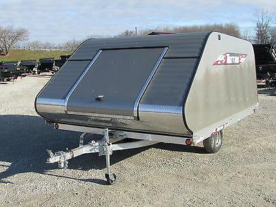 New Triton 11 Ft Snowmobile Trailer * Year End Sale Going On Now * Dr Trailer