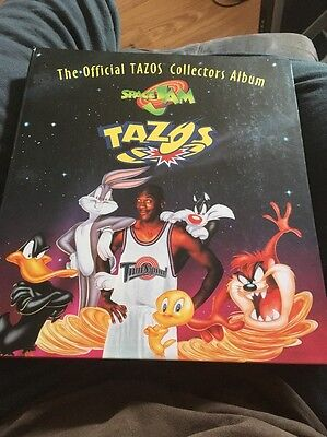 Space Jam tazos In Folder COMPLETE