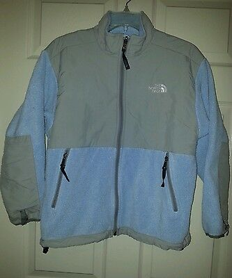 The North Face Youth Denali Fleece Jacket Youth Large Blue/Gray