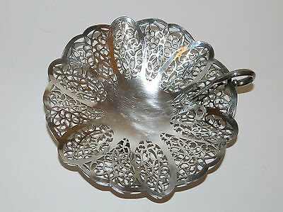Lovelace International Silver Footed Silver Plate Antique Basket or Nappy