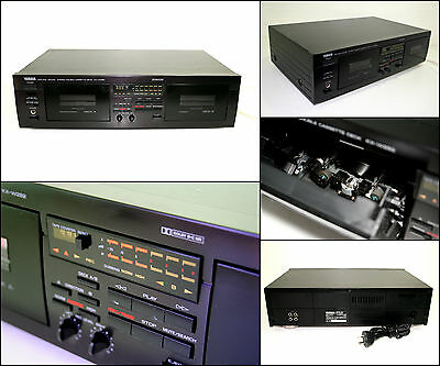 YAMAHA Natural Sound KX-W282 Stereo Double Cassette Deck