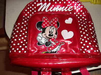 Minnie Backpack Authentic Disney Parks Merchandise Adjustable Straps DISNEYLAND