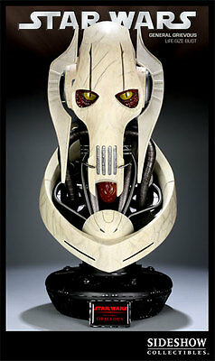 Star Wars Sideshow bust General Grievous 1:1 Life-size Limited