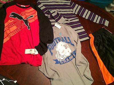 Long Sleeve Shirt Lot Youth XLG Lot Of 4 Pieces SOME NEW