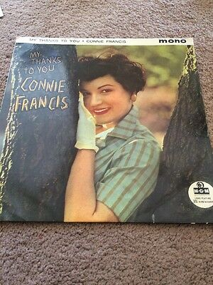 Connie Francis My Thanks To You