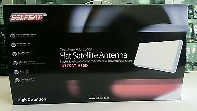 Antenna Satellitare Self Sat H30D Piatta
