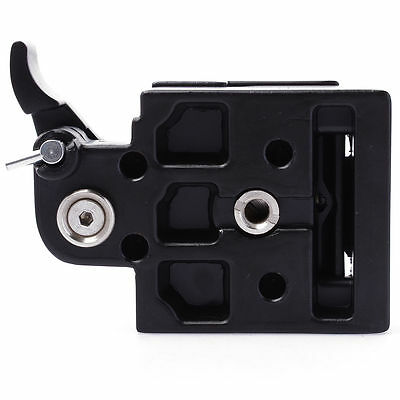Metal Quick Release Plate Clamp for Manfrotto 200PL-14 DSLR Camera Tripod DC465