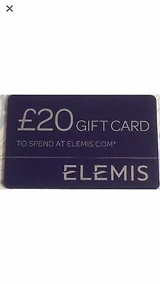 Elemis £20 Off Gift Card Voucher Online Order plus free delivery