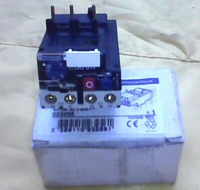 Telemecanique Electric Thermal Overload Relay LR2D1312 5.5-8A 600VAC New