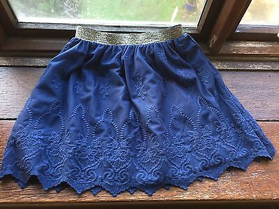 Boden Girls Skirt 11-12, Johnnie B. Navy Lace Party Skirt Excellent Condition
