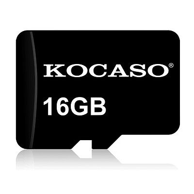 KOCASO Class 10 16GB Micro SDHC Memory Card For Digital Camera Cams