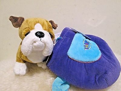 New with Tag - Ganz Webkinz plush pet carrier ( Dog ) ( great gift )