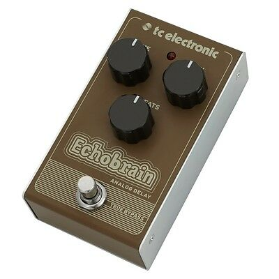 TC Electronic Echobrain Analog Bucket-Brigade Delay Guitar Effects Pedal