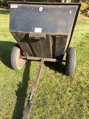 SCH Tipping Trailer For A Ride On Mower