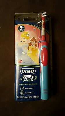 Oral-B Stages Power 5+ Yrs Disney Characters Electric Rechargeable Toothbrush