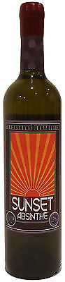 Sunset Absinthe (750ml) 50% Yes real Australian Made absinthe by Demoiselle Dist