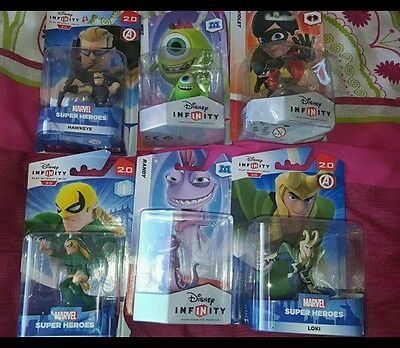 6 disney infinity characters new in boxes