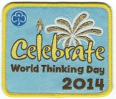 Girl Guides -  Brownies 'Celebrate World Thinking Day 2014' Badge