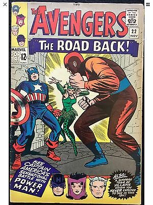 The Avengers #22 NEAR MINT 1965 SILVER AGE Comic Book