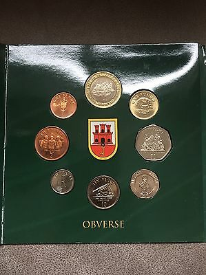 Gibraltar Coin Yea Set 2007, Mint Set In Bunc Condition With Medal