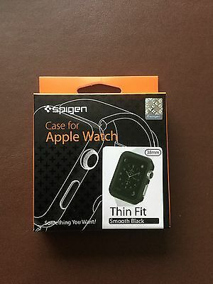 New Spigen Apple Watch 38MM Thin Fit Series Case Protector