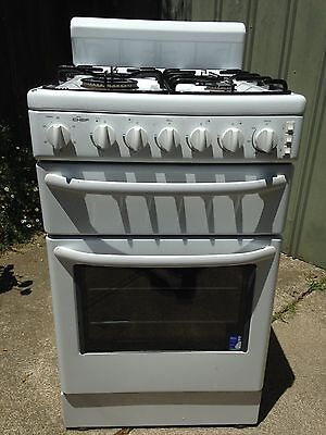 Chef Gas Stove/Oven - 54cm, Natural Gas