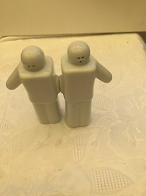 Men Salt and Pepper Magnetic Shakers