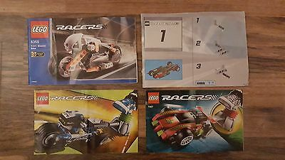 LEGO Racers Instructions Only