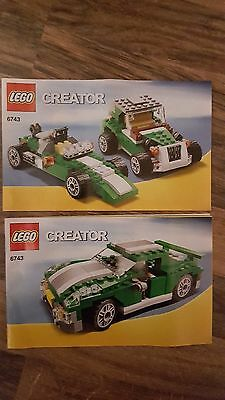 LEGO Creator 6743 Instructions Only