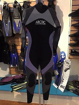 Artic Black Extreme Scuba Diving Full Length Wetsuit - Female Large 5mm