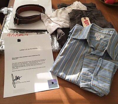 Ryan Gosling's Outfit The Notebook Film & New Line Cinema Letter Authenticity