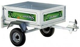 Daxara 107.2 Trailer, 3ft 5 inches x 2ft 9 inches, Great Camping Trailer