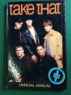Take That.official take that annual c1994.very good condition