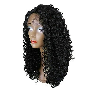 Long Curly Side Parting Lace Front Synthetic Wig Fashion New Arrival AUK