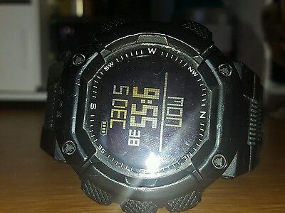 [Lad Weather] GPS Running watch Heart Rate Monitor/Altimeter/Odometer/Digital
