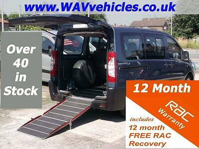 60 Reg PEUGEOT EXPERT 1.6 TEPEE L1 HDI 7 SEATS WHEELCHAIR ACCESSIBLE VEHICLE