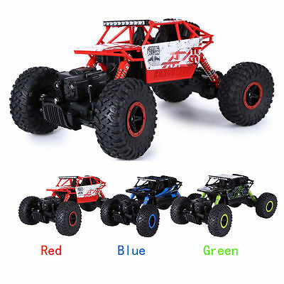 HB 1/18 2.4G 4WD Rock Crawler P1802 Coche Radiocontrol RC 4x4 Todoterreno HOT