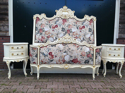 Antique Unique French Louis Xvi Bed