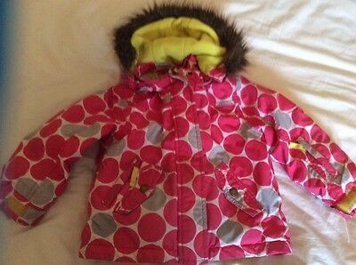 Girls Mini Boden Coat age 4-5yrs