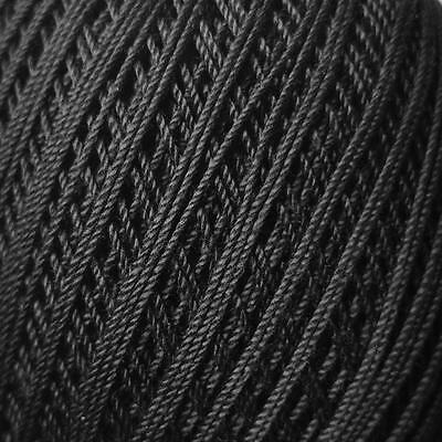 Bassoon Reed Thread Wrapping (260m, cotton) - Black