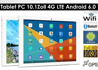 64GB 10.1 ZOLL DUAL 2xSIM,Kamera,4G,LTE,GPS,Android 5.1,Call Tablet PC Octa-Core