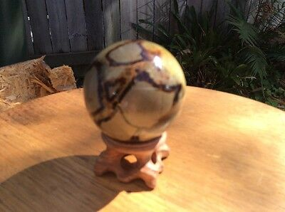 Extremely Rare Natural Dragons Egg Geode 56mm