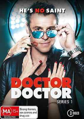 Doctor Doctor SERIES - Season 1 (DVD, 3-Disc Set) NEW