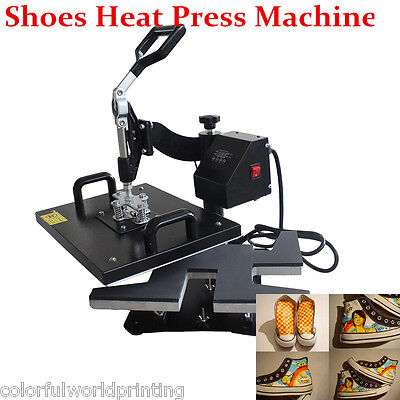 110V/220V Shoes Heat Press Machine for Fabirc Shoes Sublimation Printing