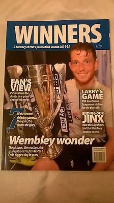 Preston North End Promotion Winners Programme Rare