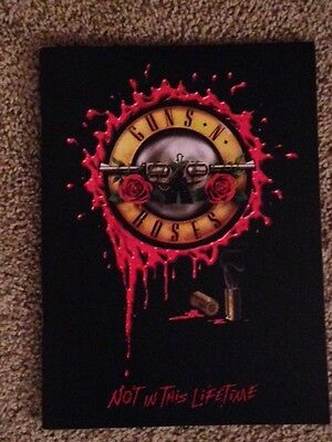 Guns N Roses glossy tour book program Not In This Lifetime NEW SOLD OUT