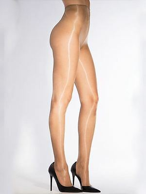 Cecilia de Rafael Eterno tights, 15 Denier Super Glossy, Shiny Pantyhose