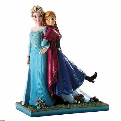 SISTERS FOREVER Elsa and Anna Frozen 4039079 Disney Traditions NEW BOXED Enesco